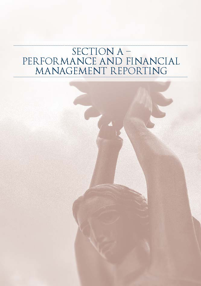 Annual Report 2012-2013Section A - Performance and Financial Management Reporting